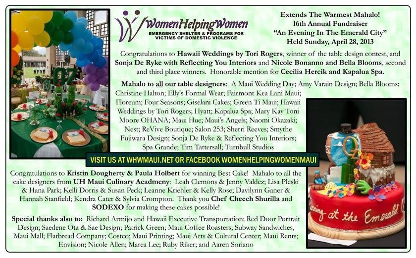 Annual Women Helping Women Fundraiser Event
